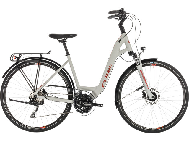 Cube Touring EXC Trekkingcykel Easy Entry grå